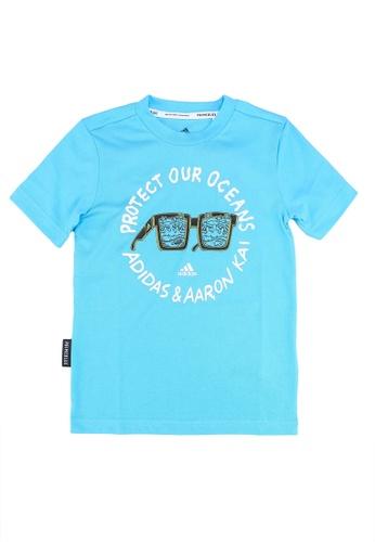ADIDAS blue aaron kai x graphic t-shirt 6C92CKAE57C2BCGS_1