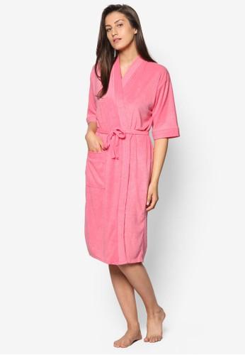 Peach Swim Robe, 服飾,esprit outlet 高雄 泳褲及沙灘造型