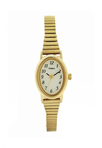 TIMEX gold Cavatina Classic Watch for Women T21872 TI205AC48WDFPH_1