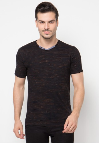 V-Neck Two Button Placket