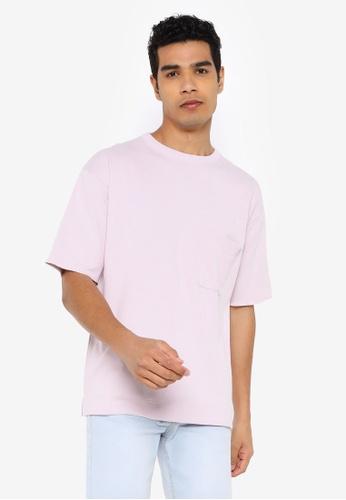 RAGEBLUE pink Knit T-Shirt 55A91AAC0EA3FBGS_1