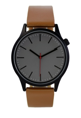 LEUPP black Kubo Watch 7D387AC556EF25GS_1