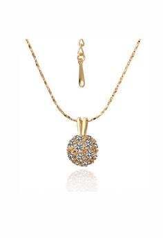 Farah Gold Ball Necklace