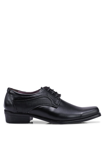 Rocklander black Brand Print Formal Shoes 24ED9SH557FCADGS_1