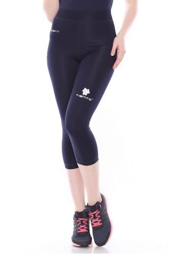 Jual Tiento Tiento Women Compression 3 4 Pants Navy Celana Legging Leging Sebetis Wanita Olahraga Original Original Zalora Indonesia