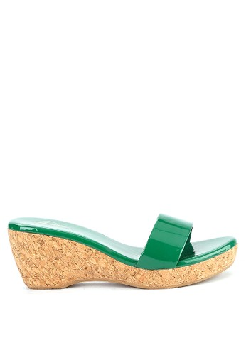 Mandy's green Mandys Alleque Green Wedges 4BE92SH708C514GS_1