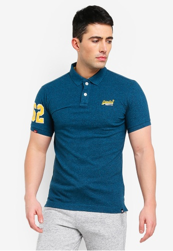 Shop Superdry Classic Pique Polo Shirt Online on ZALORA Philippines 1ff83b581