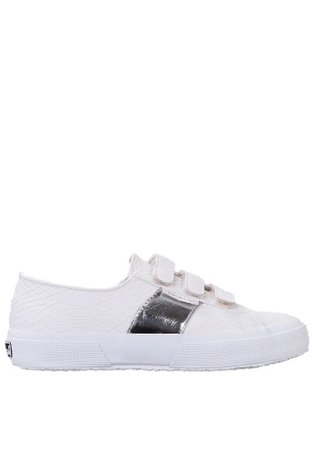 Superga white Superga Strap Embossed - White FB5AESH6A59E74GS_1