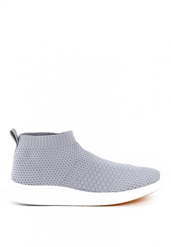 World Balance grey Odyssey L Slip On B8C7ASH5830C5FGS_1