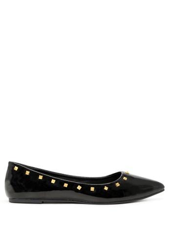 London Rag 黑色 时尚芭蕾舞鞋 SH1703 7A191SH50E1523GS_1