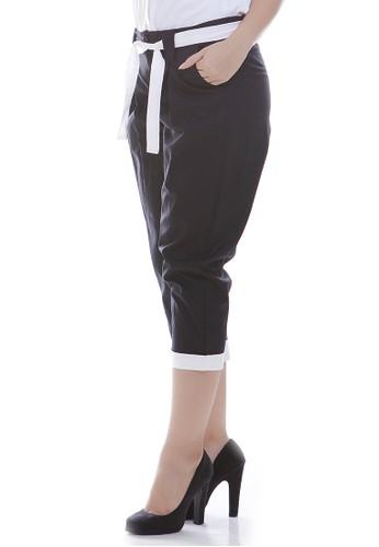 JOYFULIE black Kikani Black Pants 3AE5BAAEFF94AEGS_1