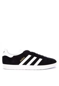fd0bb8f1c adidas black and white adidas originals gazelle 417E3SHA4780A6GS_1
