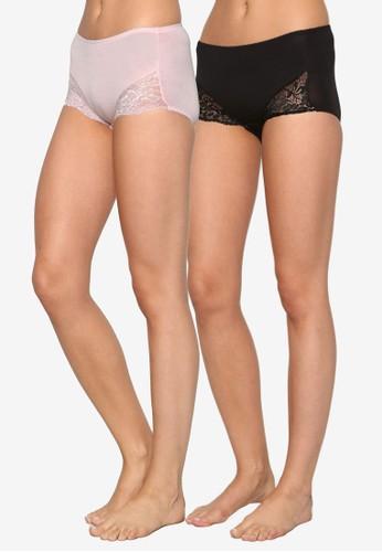 二入蕾絲esprit 錶拼接內褲組合, 服飾, 內褲