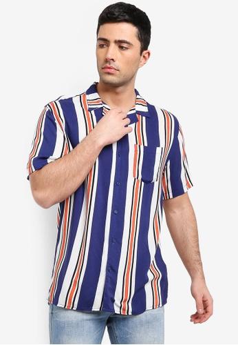 Cotton On 多色 條紋襯衫 6143BAAC750D31GS_1