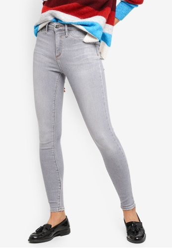 River Island grey Mid Rise Molly Jeggings CD5C2AAE24F02DGS_1