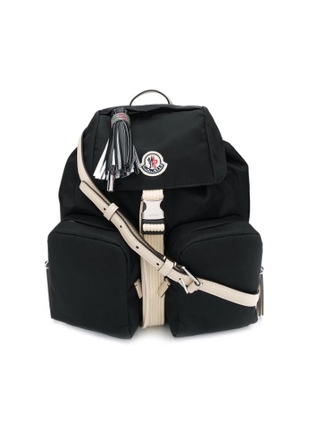 Moncler black Moncler Dauphine' Large Backpack in Black 64A98ACF0FFCB0GS_1