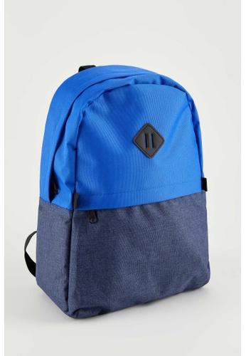 DeFacto blue Man Backpack Bag AB06FAC61B5582GS_1