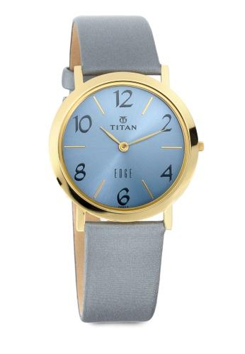 Titan x Naelofar blue Titan x Naelofar, Titan Edge Watch 679YL14 TI758AC0SIL2MY_1