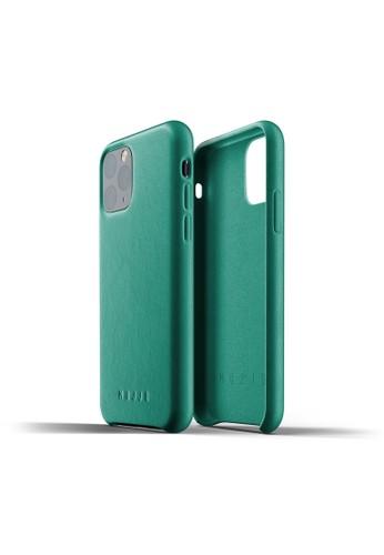 Mujjo green Mujjo Full Leather Case iPhone 11 Pro Alpine Green F2261AC264CDCEGS_1