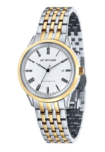 James McCabe multi James Mccabe HERITAGE JM-1021-22 Men's Two Tones   Solid Bracelet Watch JA873AC45WYOPH_1