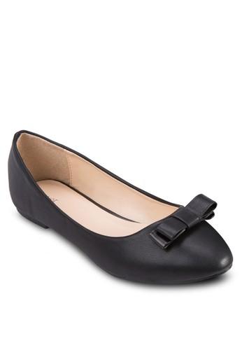 蝴蝶結基本款zalora 心得平底鞋, 女鞋, 鞋