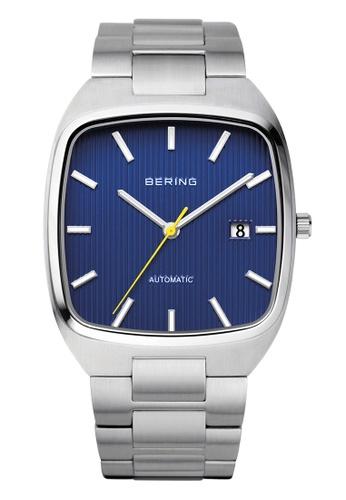 Bering silver Automatic 13538-707 Blue 38 mm Men's Watch EDC66AC469DF43GS_1