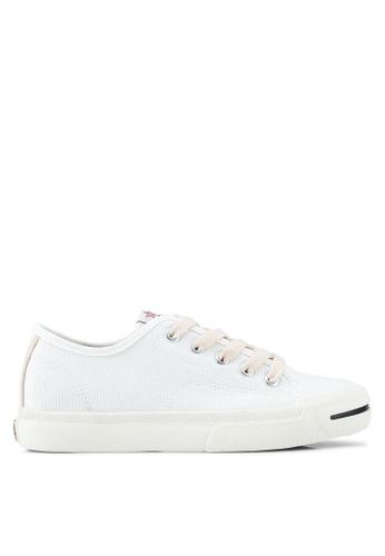 Twenty Eight Shoes white Natural Canvas Sneakers 7CC14SHC2078BFGS_1