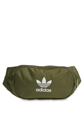 ADIDAS green essential bum bag C6BB8ACFA097A4GS_1