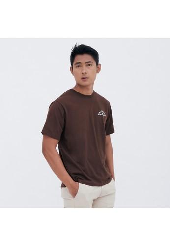 M231 T-Shirt Grafis Pendek Coklat 1948 6A99CAAA1258B2GS_1