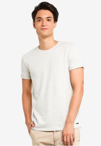 ESPRIT white Short Sleeve T-Shirt B3FC6AABF2625DGS_1