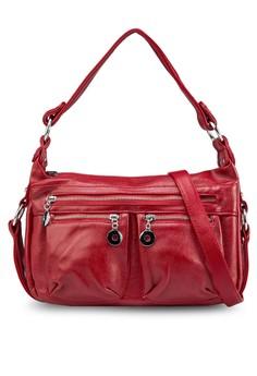 Shoulder Bag with Zipper