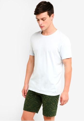 J.Crew 藍色 Slim Washed Jersey T-Shirt 1246CAAFBC19D2GS_1