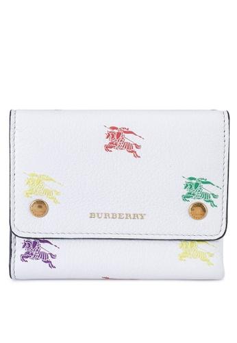 Burberry white Ludlow Wallet (oc) 02179AC23473F2GS_1