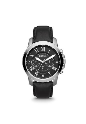 Fossil GRANT紳士型男錶 FS481esprit hk store2, 錶類, 紳士錶