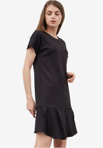 Berrybenka black Faedra Flare Dress 45A65AA13D81C2GS_1