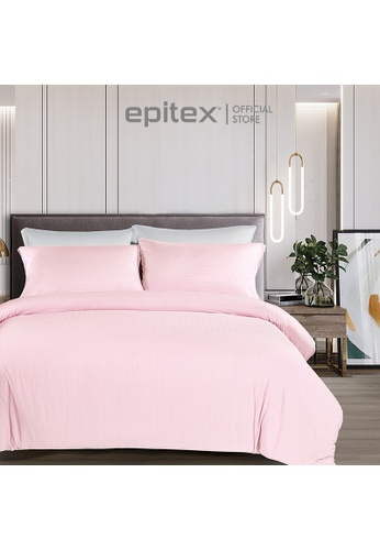 Epitex pink Epitex Extra Cooling Cryocool Wrap-Fit Collection CY3306 Pink Fitted Sheet (w/o quilt cover) 23676HL14F2E6DGS_1