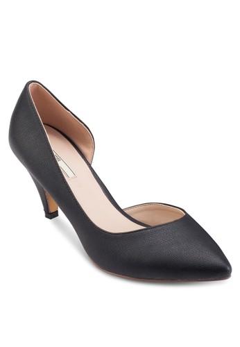 側鏤esprit 童裝空尖頭高跟鞋, 女鞋, 鞋