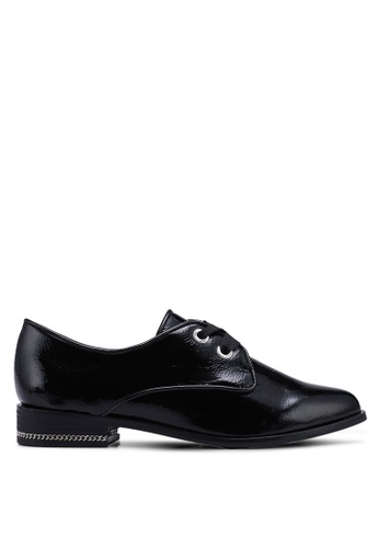 ALDO 黑色 質感牛津鞋 4FAE0SHDD5A637GS_1