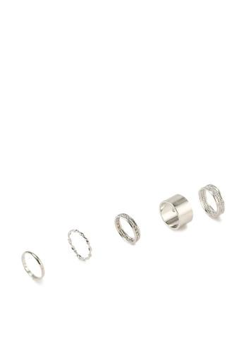 ALDO silver Cruviel Rings 1B784ACB49B4E2GS_1