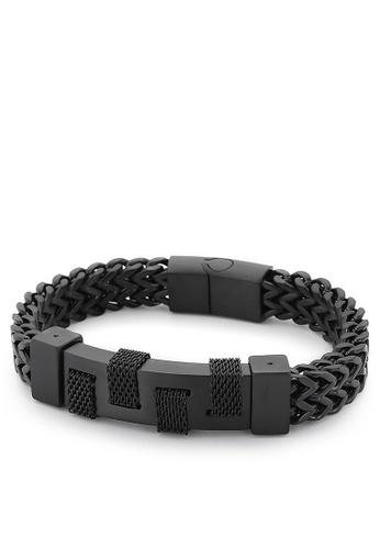 HAPPY FRIDAYS Stylish Stainless Steel Bracelet KL139686 F882DACA0A7C62GS_1