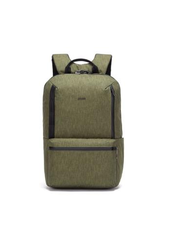 Pacsafe green Pacsafe Metrosafe X 20L Backpack (Utility) 590F7ACF697500GS_1
