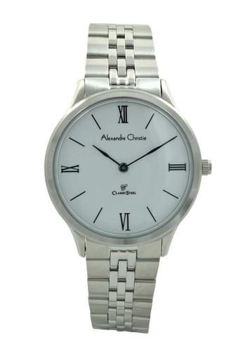 Alexandre Christie silver Alexandre Christie Jam Tangan Wanita - Silver White - Stainless Steel - 8508 LHBSSSL AL709AC49HVYID_1