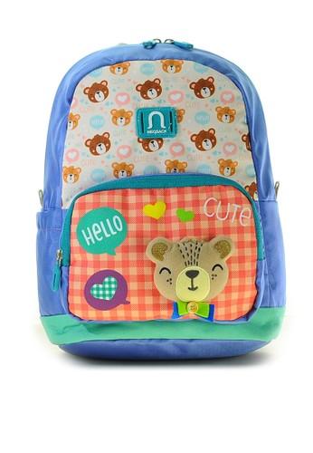 NEOSACK purple Neosack Tas ransel mini anak  – backpack anak mini HELLO BEAR 076B0KCD9A4143GS_1