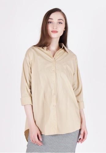 MAGNOLIA beige Printed Shirt 88BE0AA0CB4EE7GS_1