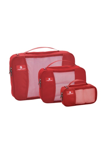 Eagle Creek red Eagle Creek Pack-It Cube Set (Red Fire) 0A928ACBFFF6D5GS_1