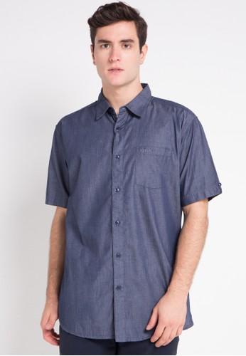Kickers blue Shirt KI071AA0VOXSID_1