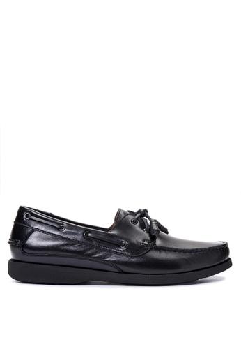 Gibi black Men's Dress Shoes GI342SH09UXAPH_1