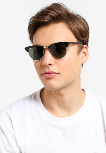 8cc793eb7b16 Buy Ray-Ban Clubmaster RB3016 Sunglasses Online on ZALORA Singapore