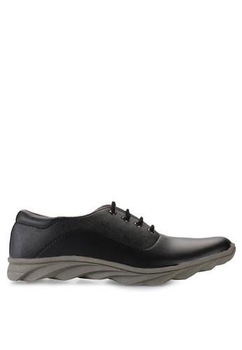 Dr. Kevin black Loafers, Moccasins & Boat Shoes Shoes 13251 Hitam Leather DR982SH87ZPCID_1