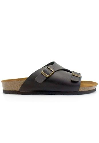 SoleSimple black Jersey - Black Sandals & Flip Flops F682CSHE7AE6FCGS_1